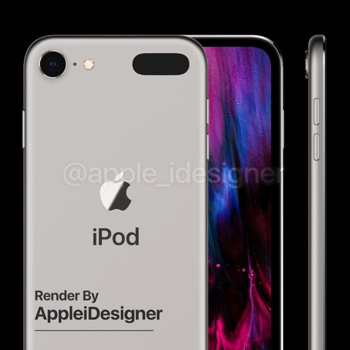 Ngắm concept iPod touch 2019 đẹp lung linh 4