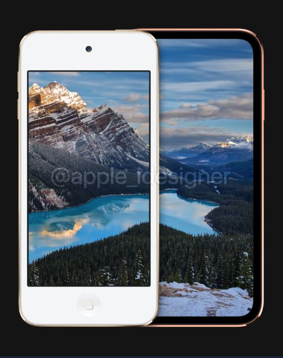 Ngắm concept iPod touch 2019 đẹp lung linh 3