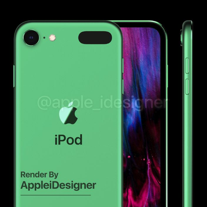 Ngắm concept iPod touch 2019 đẹp lung linh 5