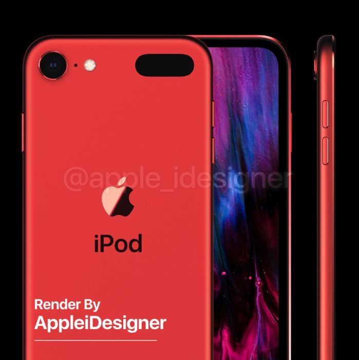 Ngắm concept iPod touch 2019 đẹp lung linh 6