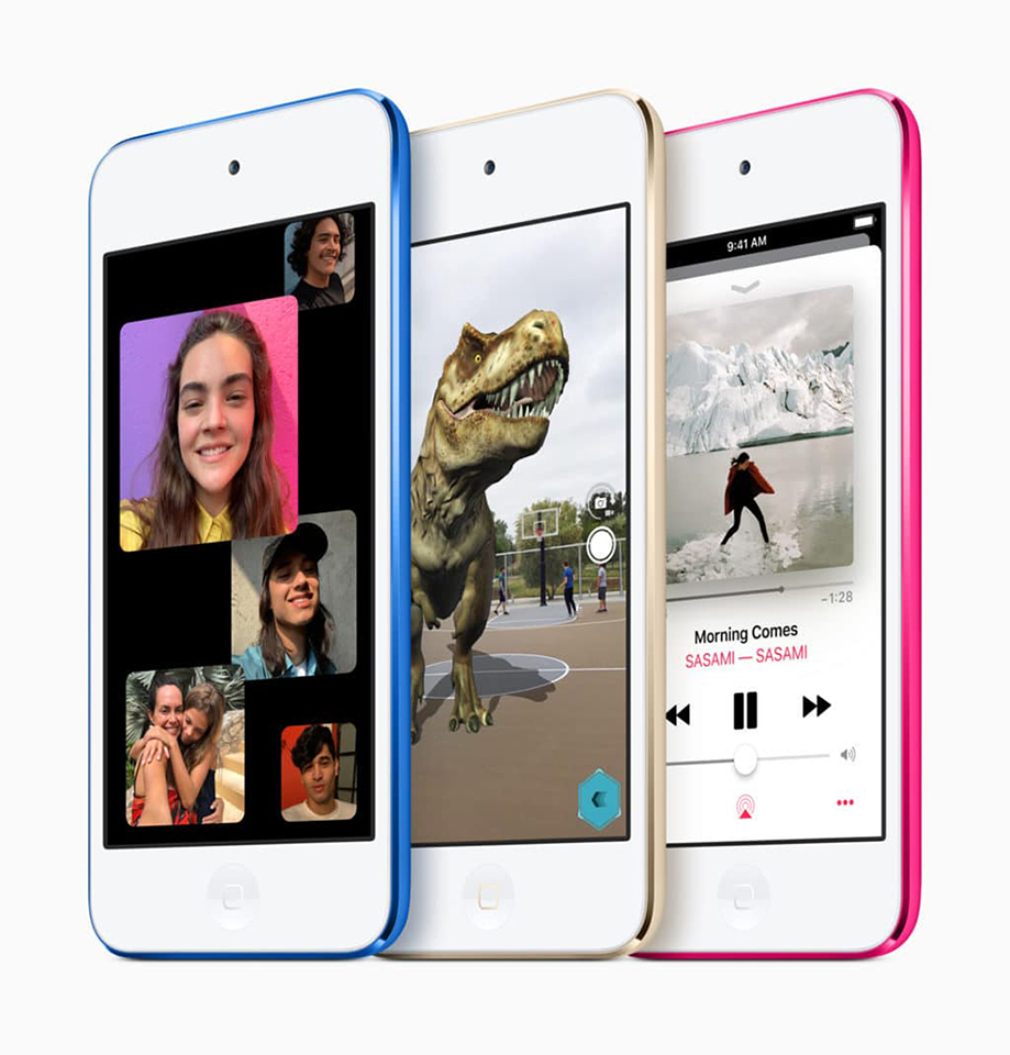 iPod touch mới ra mắt