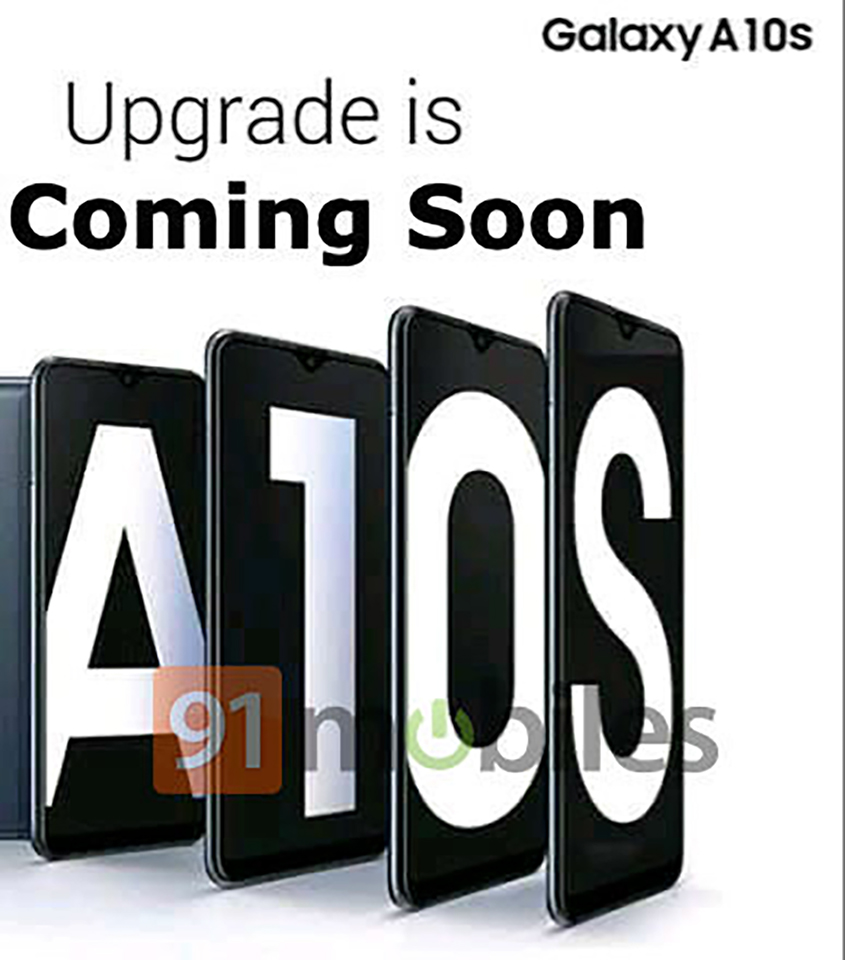 Poster Galaxy A10s
